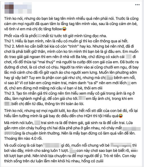 Mang tiếng bênh vực nhưng bạn thân Hồ Quang Hiếu lại gián tiếp thừa nhận bê bối của nam ca sĩ là có thật-1