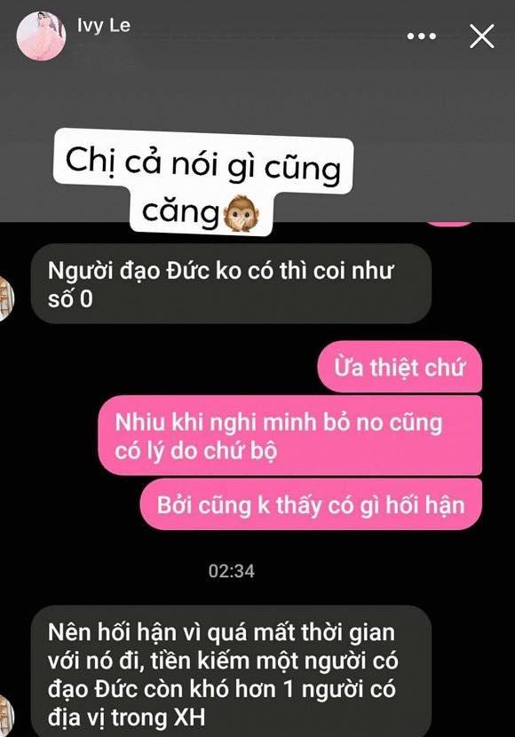 Vợ cũ Hồ Quang Hiếu đăng đàn ẩn ý, mỉa mai nam ca sĩ không có đạo đức?-1