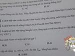 Đọc đề xong học sinh hí hửng tưởng chép được bài nhau, ai ngờ xỉu lên xỉu xuống vì mã đề quá cao tay của thầy giáo-7