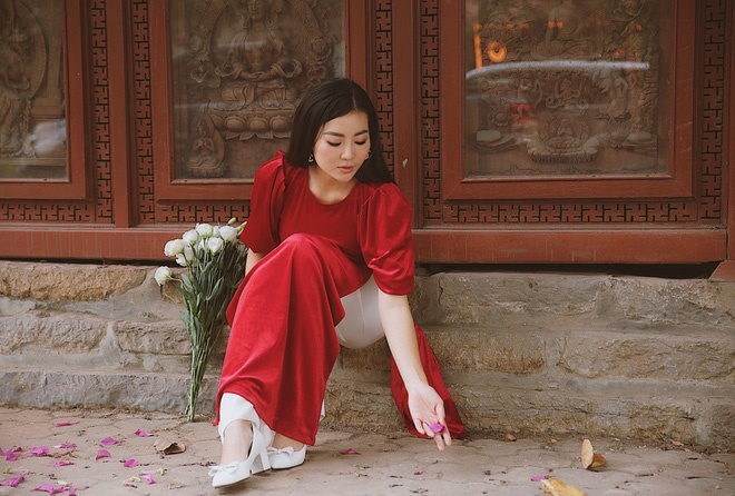 Diễn viên Thanh Hương duyên dáng, xinh đẹp trong tà áo dài-6