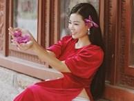 Diễn viên Thanh Hương duyên dáng, xinh đẹp trong tà áo dài