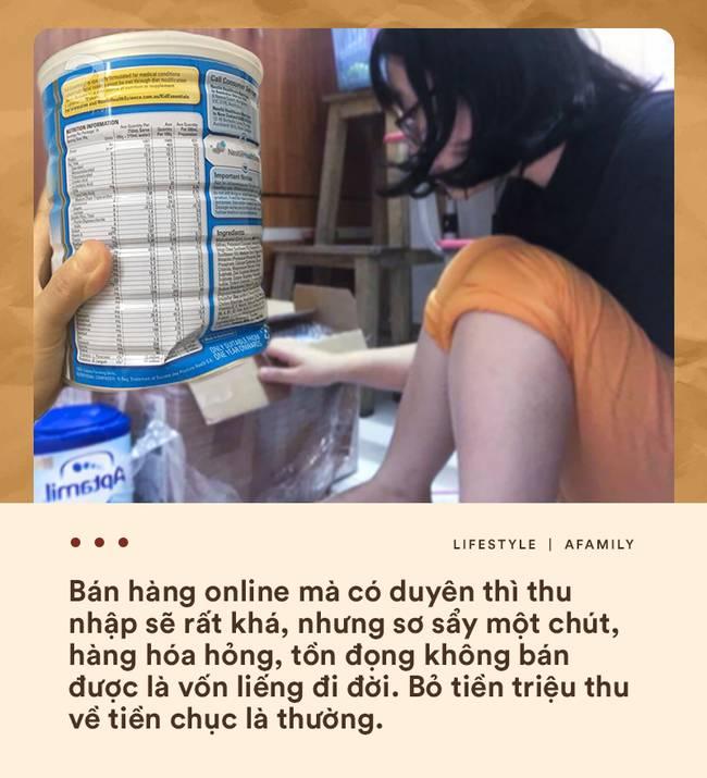 Bán hàng online và muôn nẻo tâm tư thầm kín giờ mới dám kể của hội bỉm sữa liều mình đi buôn-4