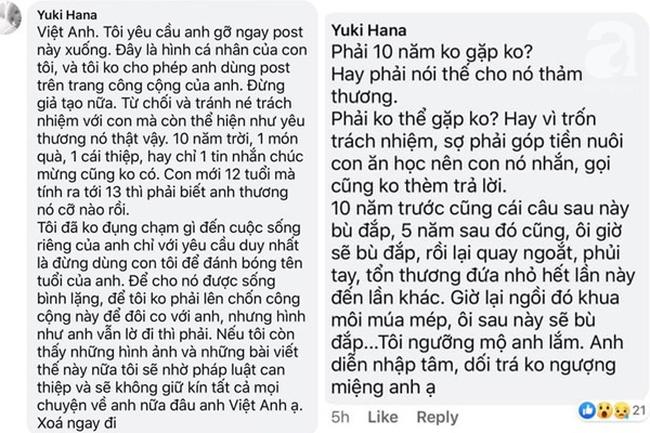 Vợ cũ bức xúc khẳng định Việt Anh giả tạo, dối trá không ngượng miệng: Con 12 tuổi mà anh tính 13 tuổi là đủ biết thương con thế nào rồi-2