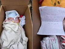 Bé gái sơ sinh bị bỏ rơi bên vệ đường, lời nhắn bên cạnh mới thật sự xót xa