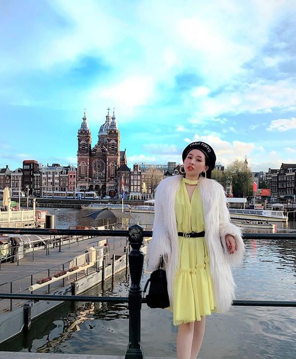 5 năm sau cuộc hôn nhân chóng vánh, vợ cũ Hồ Quang Hiếu ngày càng xinh đẹp, vi vu du lịch khắp nơi-8