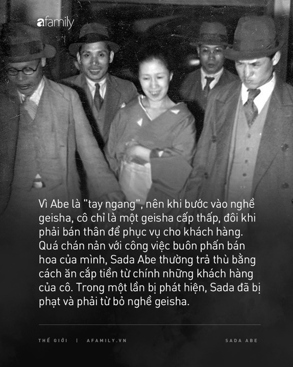 Cuộc đời cùng cực của người phụ nữ từ geishathành gái mại dâm: Bị cưỡng hiếp năm 14 tuổi,trong cơn cuồng ghen trở thành sát nhân biến thái-2