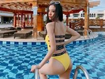 Á hậu Thúy An khoe dáng với áo tắm ở Hoa hậu Liên lục địa 2019