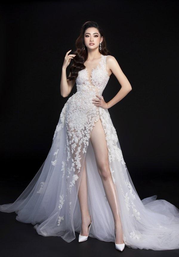 Hé lộ trang phục dạ hội chung kết MW2019 củaLương Thuỳ Linh-2