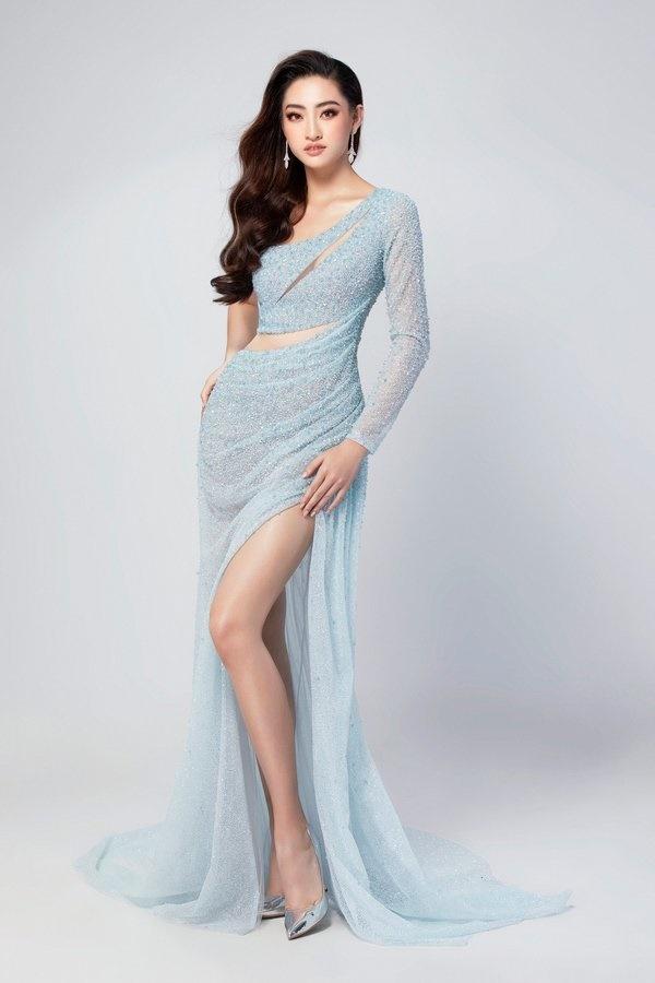 Hé lộ trang phục dạ hội chung kết MW2019 củaLương Thuỳ Linh-4