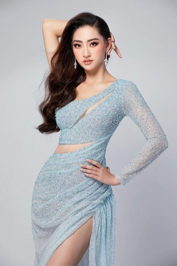Hé lộ trang phục dạ hội chung kết MW2019 củaLương Thuỳ Linh-5