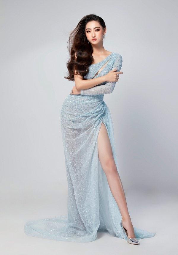 Hé lộ trang phục dạ hội chung kết MW2019 củaLương Thuỳ Linh-6