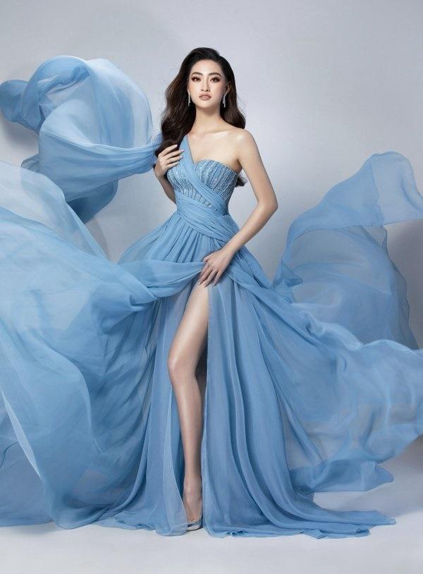 Hé lộ trang phục dạ hội chung kết MW2019 củaLương Thuỳ Linh-8