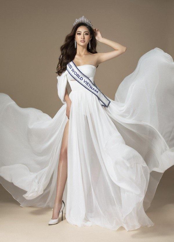 Hé lộ trang phục dạ hội chung kết MW2019 củaLương Thuỳ Linh-10