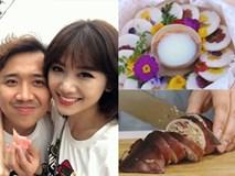 Trấn Thành tủi thân vì vợ không bao giờ nấu ăn, Hari sang Hàn tập làm món đẹp như mơ