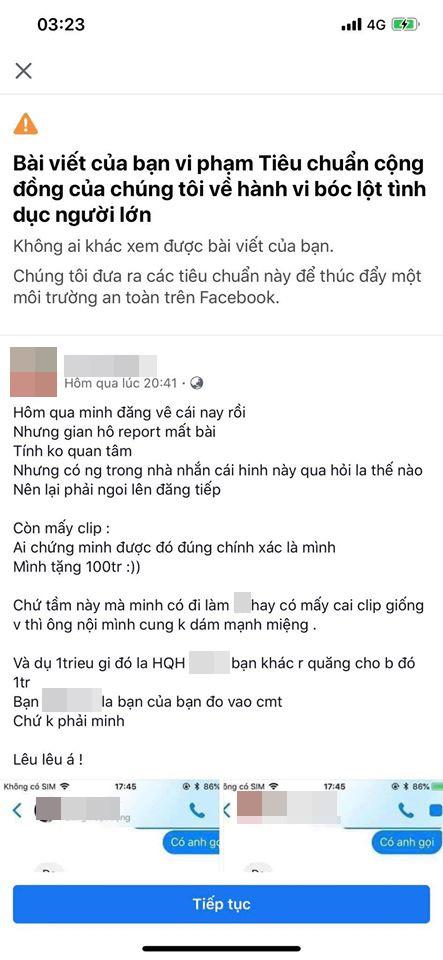 Bị dọa tung clip nóng và report bài viết, cô gái trong scandal tố Hồ Quang Hiếu cưỡng dâm chính thức lên tiếng-4