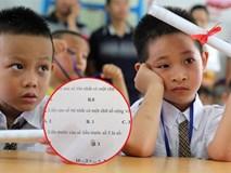 Đề kiểm tra Toán lớp 1 với nhiều câu hỏi hại não đánh đố tư duy trẻ, phụ huynh người đồng tình người phản đối gay gắt