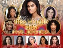 Chuyên trang sắc đẹp Missosology tung BXH cuối cùng trước giờ G chung kết Miss World 2019: Lương Thùy Linh leo lên vị trí thứ 6 trong top 20