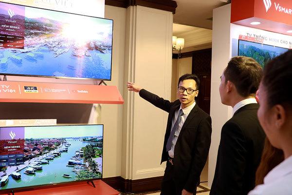 VinSmart ra mắt 5 mẫu TV thông minh đầu tiên-5