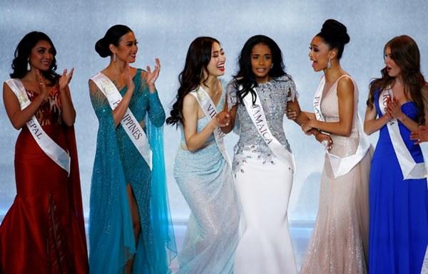 Jamaica đăng quang Hoa hậu Thế giới, Lương Thùy Linh dừng ở top 12-3