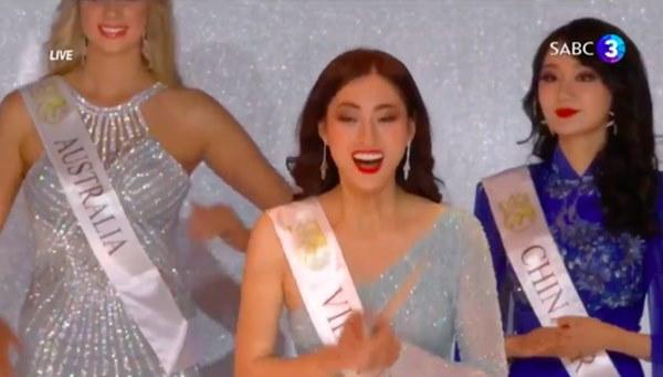 Màn ứng xử tiếng Anh quá đỉnh của Lương Thùy Linh tại Miss World 2019: Thần thái tự tin, gửi gắm đầy ắp niềm tự hào dân tộc!-1