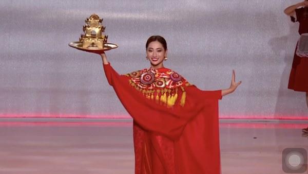 Màn ứng xử tiếng Anh quá đỉnh của Lương Thùy Linh tại Miss World 2019: Thần thái tự tin, gửi gắm đầy ắp niềm tự hào dân tộc!-4
