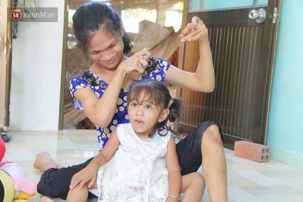 Cuộc sống đổi thay của người mẹ điên từng bị hiếp dâm đến sinh con ở Trà Vinh: Căn nhà nhỏ đã tràn ngập tiếng cười-5
