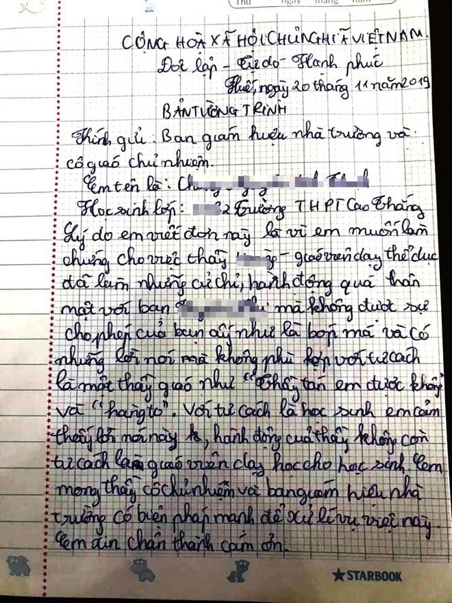Diễn biến bất ngờ vụ thầy giáo bị tố nói thầy tán em được không với nữ sinh-1
