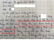 Diễn biến bất ngờ vụ thầy giáo bị tố nói