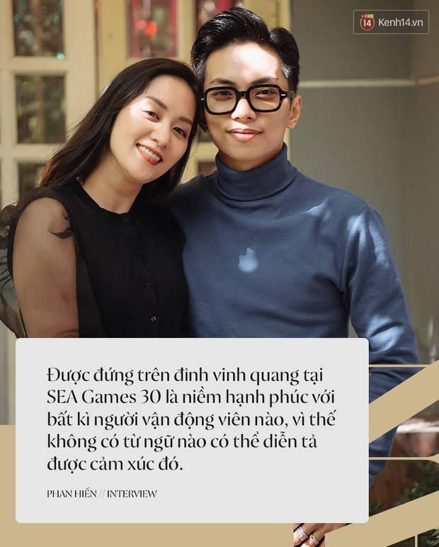 Khánh Thi - Phan Hiển kể lại chặng đường giành HCV SEA Games 30, lần đầu tiết lộ về hôn lễ: Cô ấy sẽ mặc váy cưới sớm thôi-1