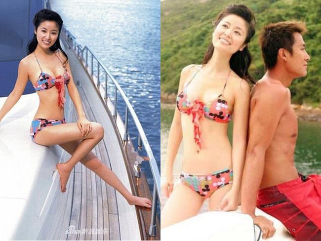 Lộ chùm ảnh bikini năm 17 tuổi của Lâm Tâm Như, sốc nhất vẫn là hình trong bữa tiệc sinh nhật người lớn-3