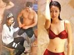 Xôn xao hình ảnh Lâm Tâm Như mang thai lần 2, liên tục cẩn trọng lấy tay đỡ bụng trong hậu trường sự kiện-5