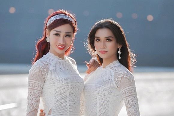 BB Trần cùng Hải Triều diện áo dài trắng nền nã như nữ sinh chính hiệu-6