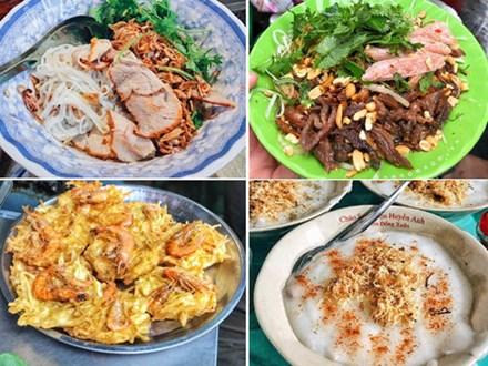 Phở tíu và 6 món ngon đường phố đáng thử ở ngõ chợ Đồng Xuân