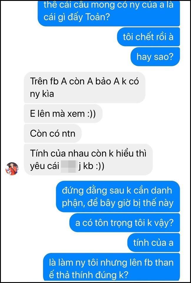 Thủ môn Văn Toản của U22 Việt Nam bị tố bắt cá hai tay, lộ tin nhắn thách thức người yêu cũ càng khiến dân mạng không ngờ-7