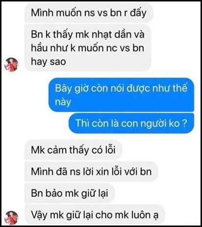 Thủ môn Văn Toản của U22 Việt Nam bị tố bắt cá hai tay, lộ tin nhắn thách thức người yêu cũ càng khiến dân mạng không ngờ-9