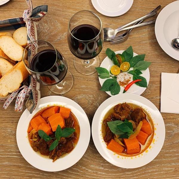 Khoe món ngon đẹp lạ chồng nấu, Phan Như Thảo: Cũng không có gì, chỉ là một bữa bình thường-12