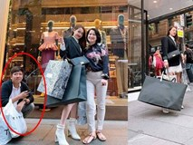 Không chỉ đưa Nhã Phương đi mua sắm thả ga ở nước ngoài, Trường Giang còn cung phụng vợ đến mức này