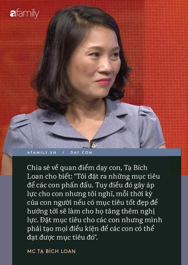 Người phụ nữ quyền lực VTV Tạ Bích Loan giữ chuyện đời tư kín như bưng, nhưng quan điểm dạy con hiếm hoi được bật mí gây bất ngờ-5