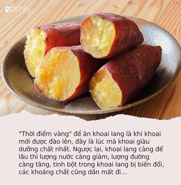 """Nếu ở thời điểm vàng"""" này trong ngày bạn ăn 1 củ khoai lang sẽ vừa chống được ung thư vú lại còn giảm cân và sống thọ hơn-1"""