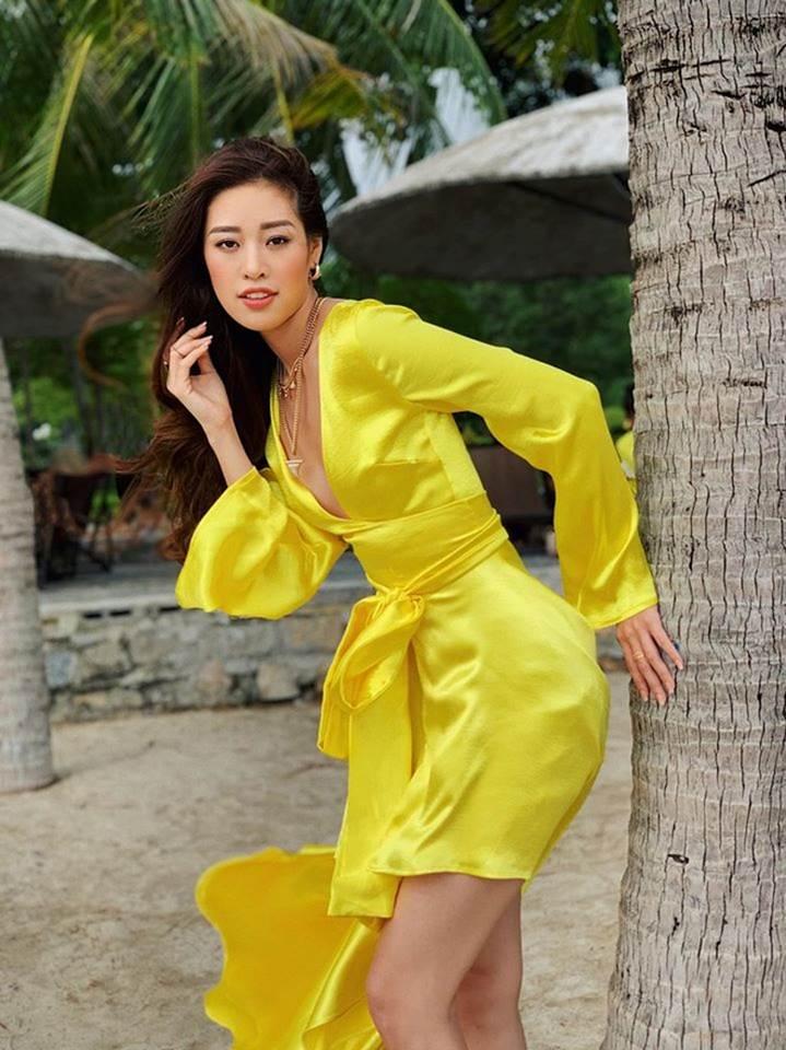 Kỳ Duyên và dàn hoa hậu Việt ưa chuộng phong cách gợi cảm-16