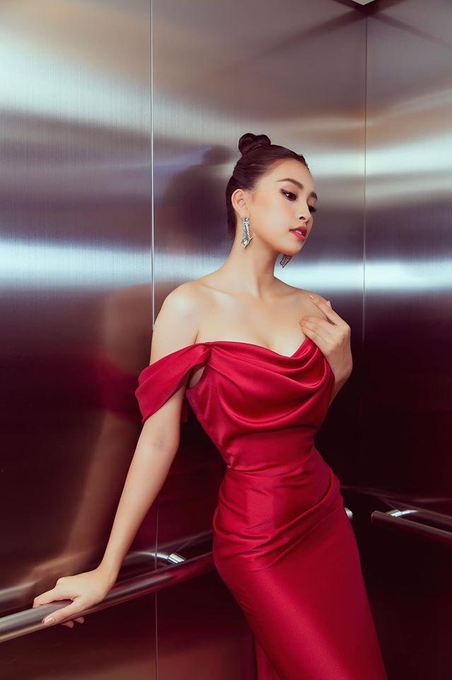Kỳ Duyên và dàn hoa hậu Việt ưa chuộng phong cách gợi cảm-5
