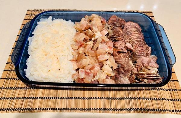 Vừa sang Mỹ định cư, Diệu Hương làm món ăn ai nhìn cũng nhớ quê nhà-4