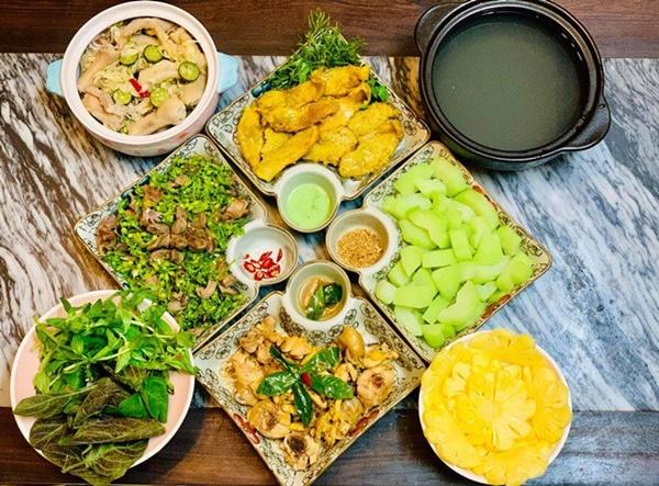 Vừa sang Mỹ định cư, Diệu Hương làm món ăn ai nhìn cũng nhớ quê nhà-7