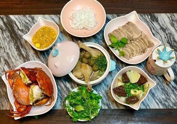 Vừa sang Mỹ định cư, Diệu Hương làm món ăn ai nhìn cũng nhớ quê nhà-9