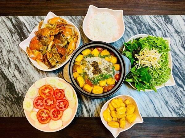 Vừa sang Mỹ định cư, Diệu Hương làm món ăn ai nhìn cũng nhớ quê nhà-11