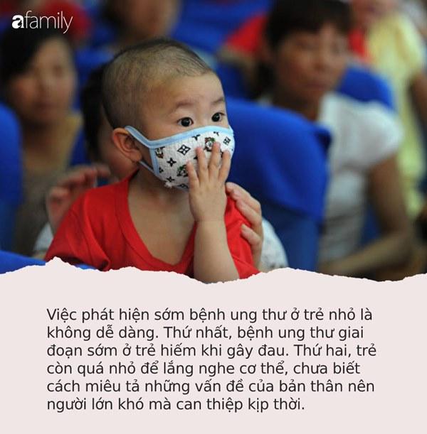 """9 triệu chứng không đau"""" nhưng lại là tín hiệu của bệnh ung thư ác tính ở trẻ nhỏ, cha mẹ phải hết sức lưu ý-1"""
