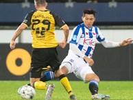Sau màn ra mắt ngắn ngủi, Đoàn Văn Hậu nhận tin không thể vui hơn từ HLV SC Heereenveen