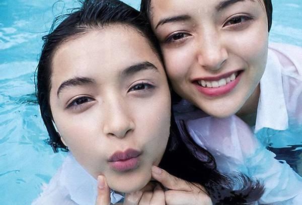 Cặp chị em lai Rumani Nhật Bản xinh đẹp như thiên thần-4