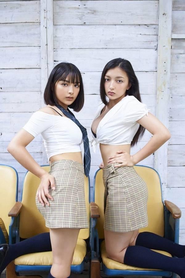 Cặp chị em lai Rumani Nhật Bản xinh đẹp như thiên thần-5