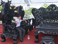 Đại gia Thanh Hóa sở hữu bộ siêu bàn ghế 27 tỷ có 1 không 2